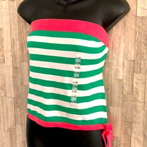 Tommy Hilfiger knitted strapless top, NWT